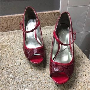 Red Heels Size 10
